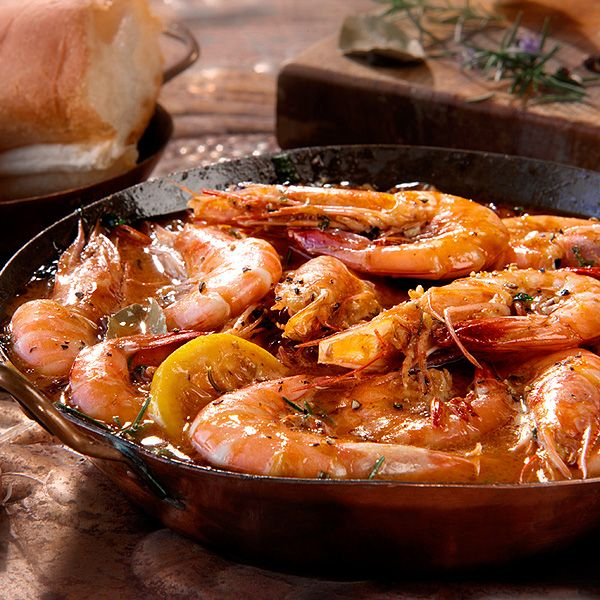 The original Pascal's Manale Big Easy Barbecue Shrimp