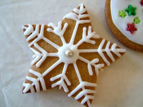 Christmas Star Cookie Decoration Ideas Holiday Cookies