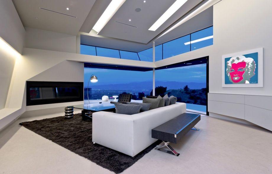 Dosis arquitectura casa futurista en los ngeles casa for Case futuristiche