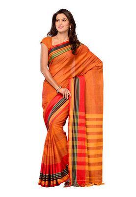 63d5f98f870f1e Cotton Bazaar Yellow Colored Pure Cotton Saree Cotton Sarees Online, Simple  Sarees, Cotton Fabric