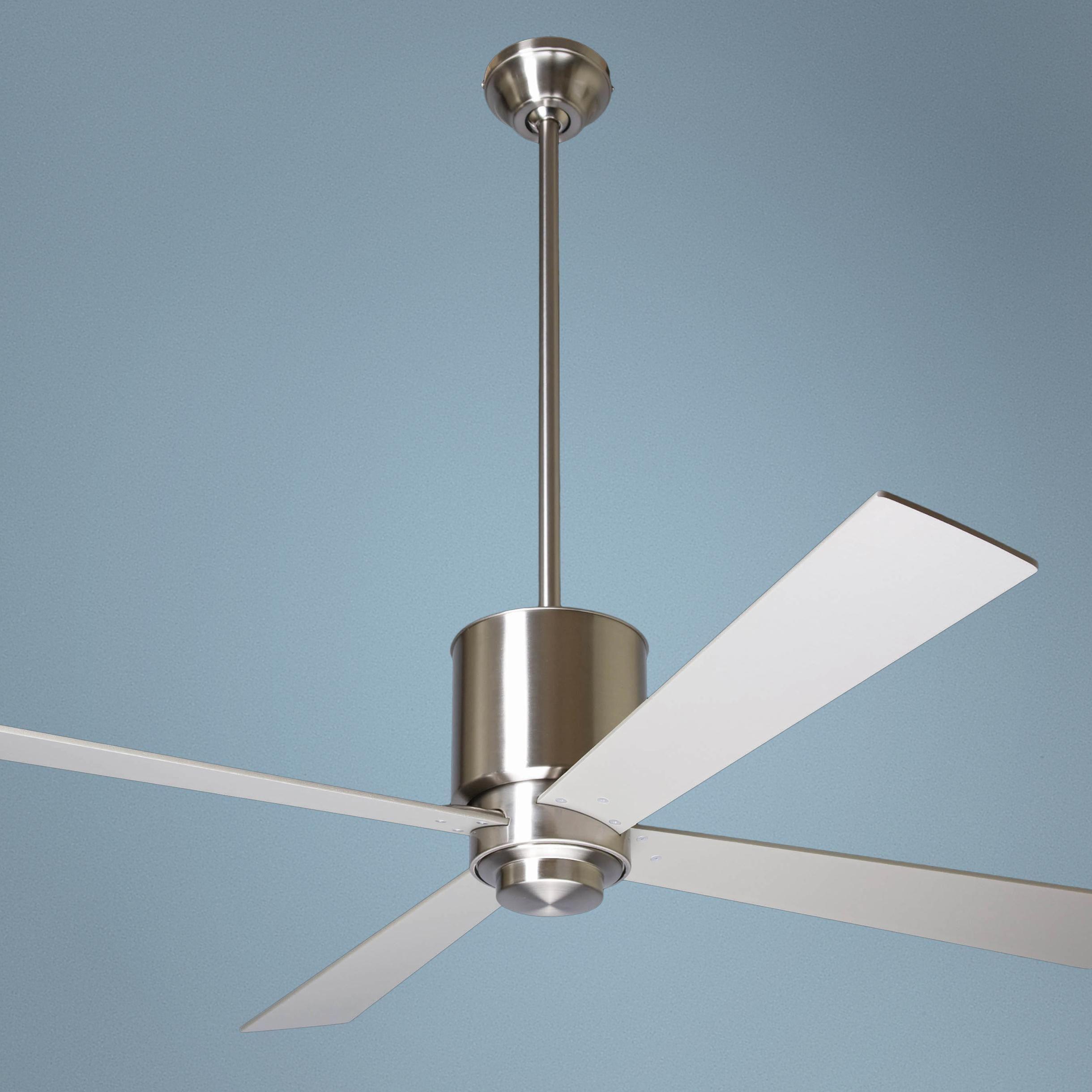 Fan Lapa Bright Nickel Ceiling