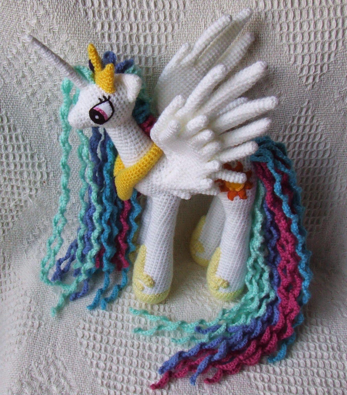 Princesa Celestia Amigurumi * My Little Pony   Pinterest   Princesa ...