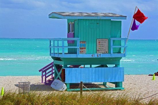 A Couture Life...: Miami Beach Lifeguard Towers