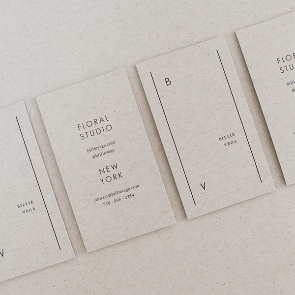 Billie business cards chelsea template and texts business card design ideas and inspiration billie business cards hands on reheart Image collections