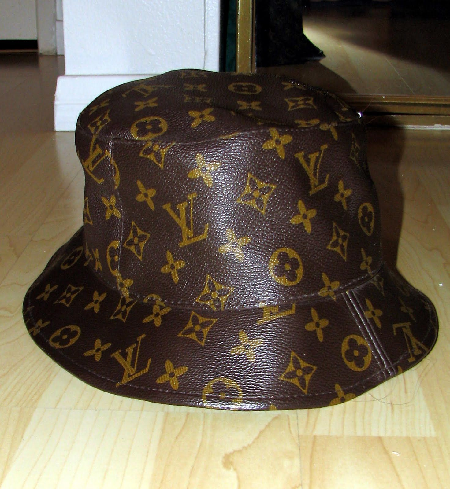805498b77 Fake Louis Vuitton Hat | MyEbayShtuff: Louis Vuitton Bucket Hat ...