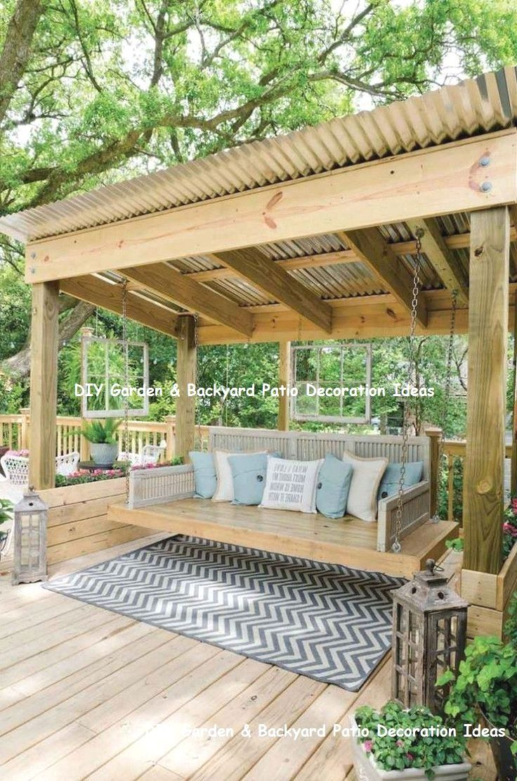 13 Awesome And Cheap Patio Furniture Ideas 2 Small Backyard