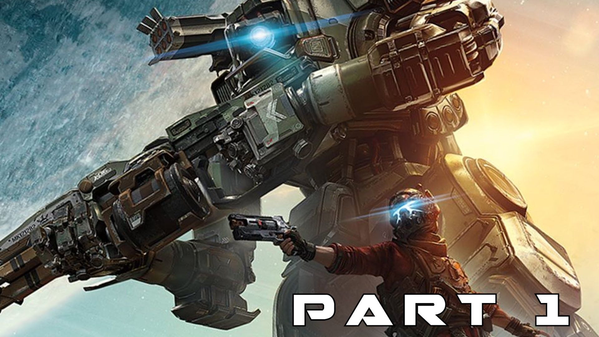 Titanfall 2 Walkthrough Gameplay Part 1 Embark (PS4