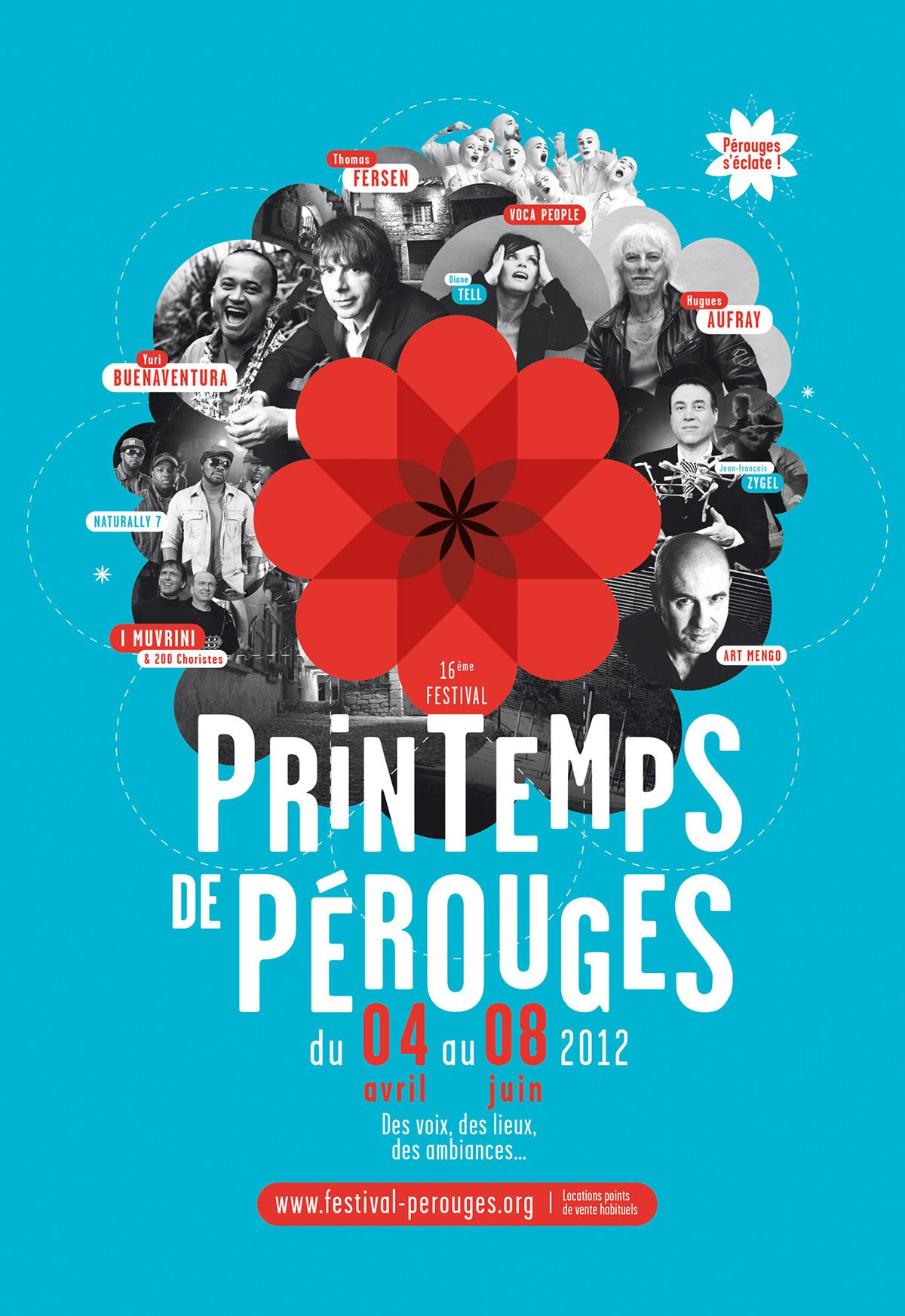 Alfombras Publicitarias Spring Festival Of Pérouges Brand Identity On Behance