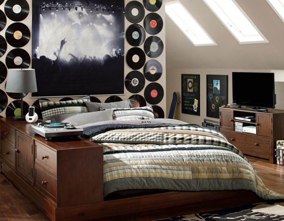 Music Inspired Bedrooms For Teenagers Music Inspired Bedroom