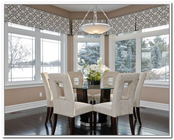 Charming Clean Line Valances For Kitchen Table Nook Area But Iu0027ll Add Long Panels  As. Kitchen Curtains And ValancesModern ...