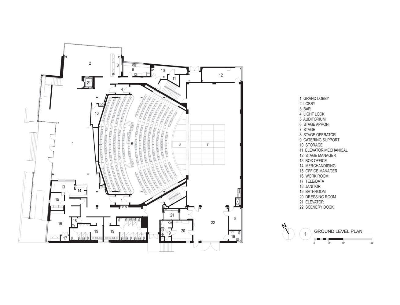 Galería de Teatro Topfer en ZACH / Andersson Wise