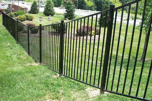 Rackable Iron Panels By Titanfence Via Flickr Fence Contractor
