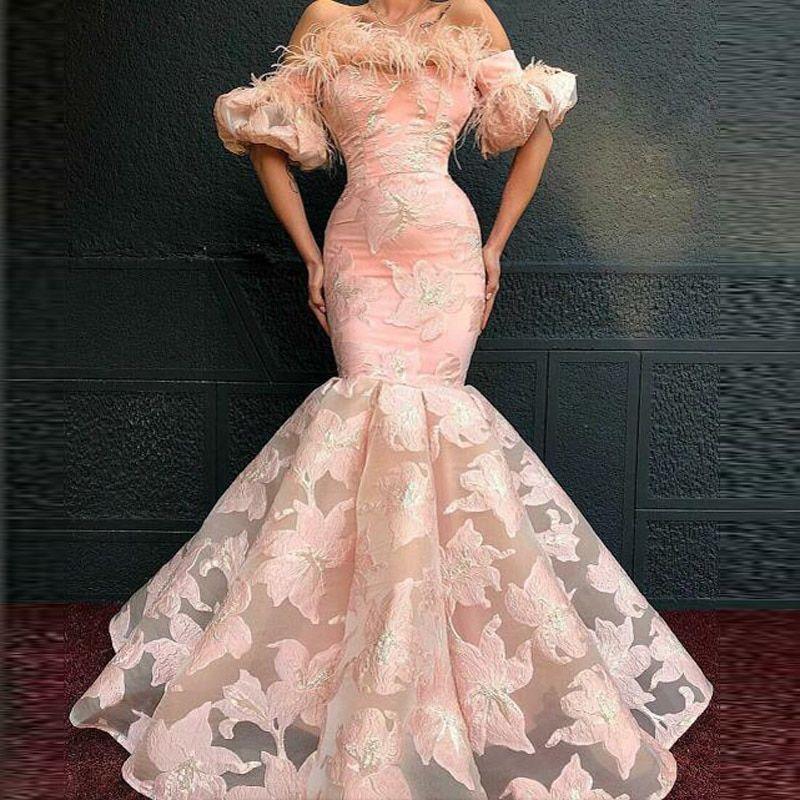 US $136.74 14% OFF|Evening Dresses Jewel Lace Floo