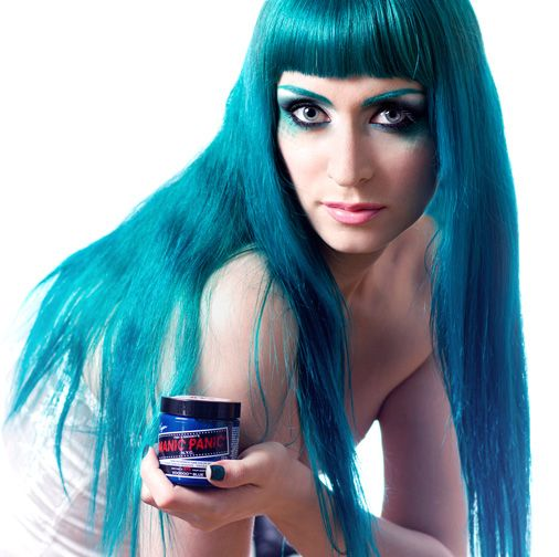 The One The Only Manic Panic Hair Dye Colors Semi Permanent