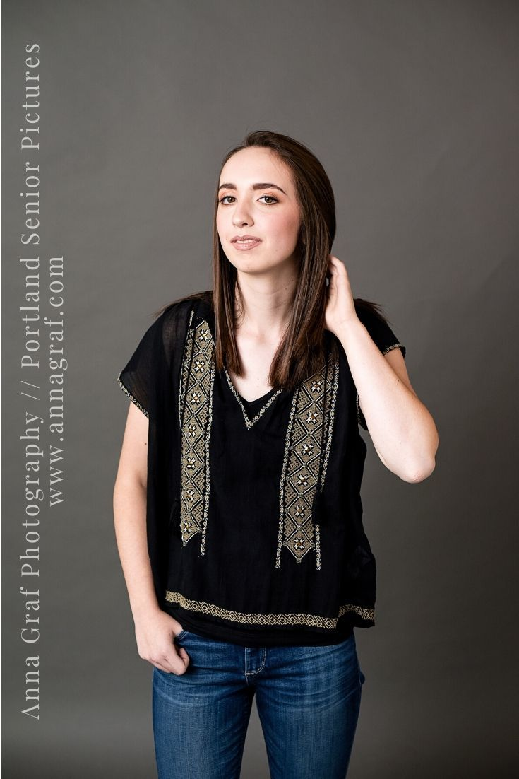 Book the Luxe shoot for a fully customized senior picture