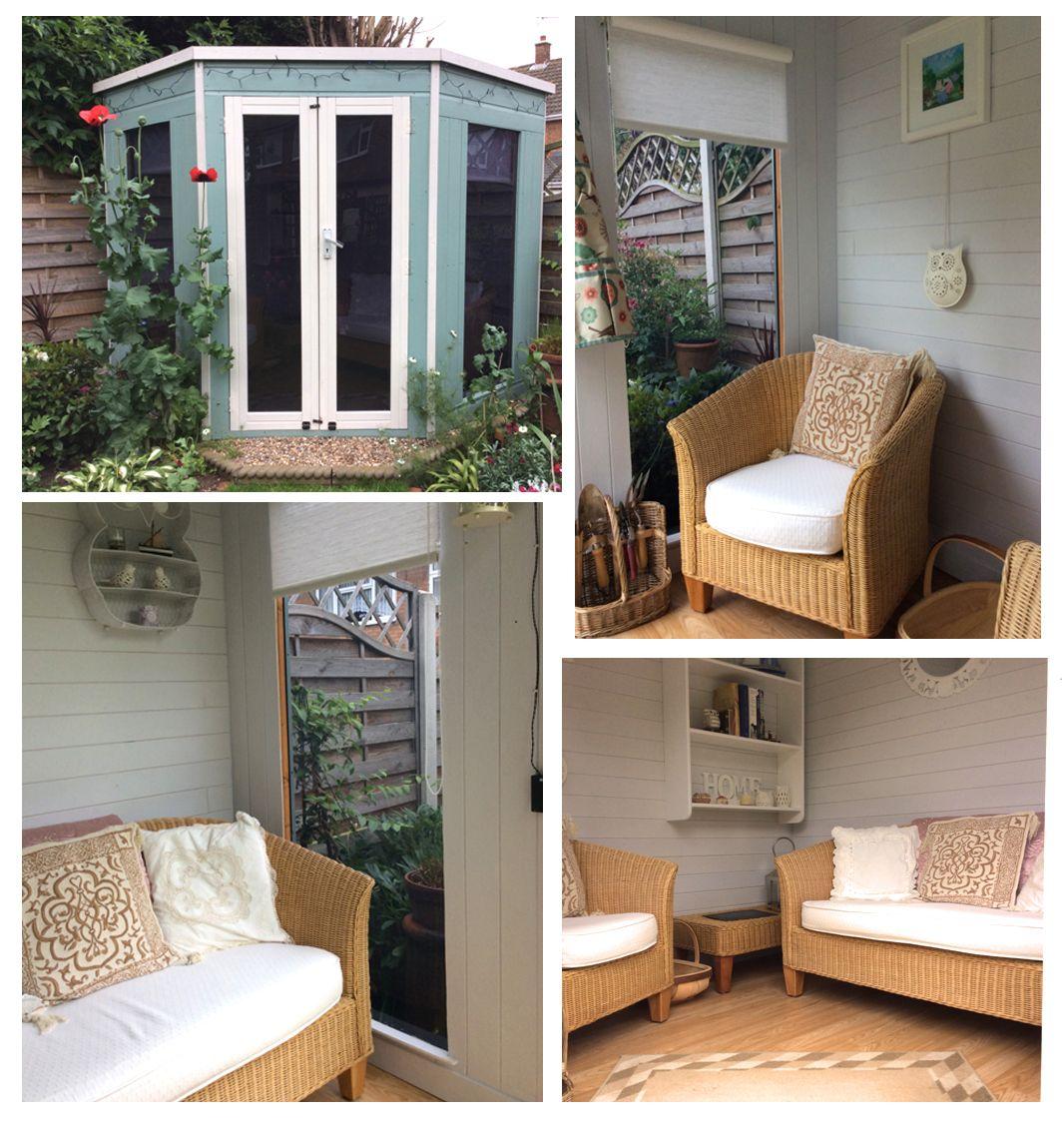 Waltons 8 x 8 Corner Summerhouse | Summer house interiors ...