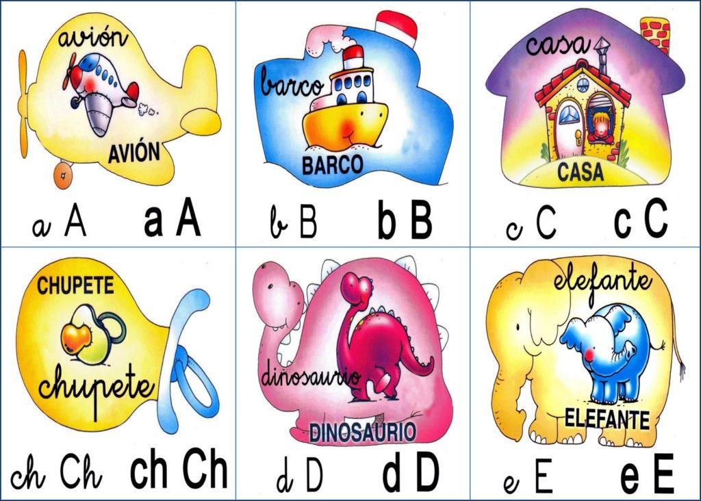 Abecedario con imágenes para imprimir - aprendermas.net