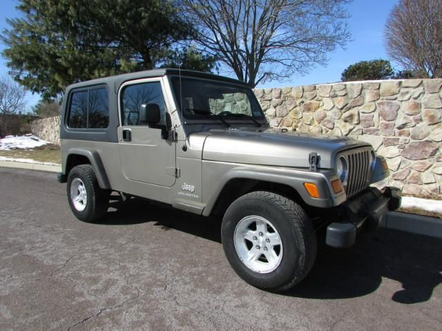 Used Cars / Trucks / Dealers 2005 Jeep Wrangler Unlimited. Light Khaki Over  Beige Interior