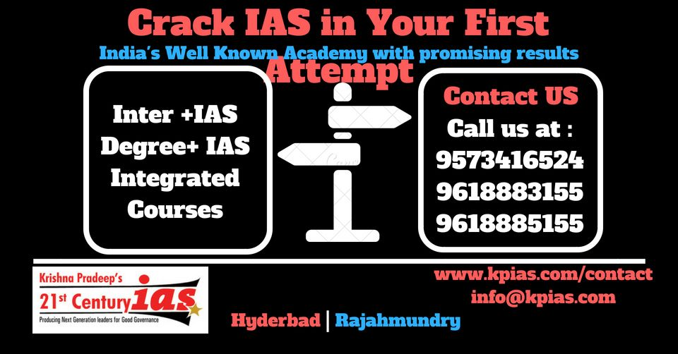 Pin by kpias academy on IAS Coaching Center in Vizag