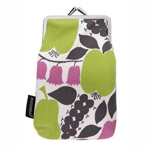Marimekko Kissankello Semi-Coin Purse $49.00