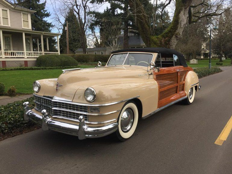 1948 Chrysler Town Country For Sale Chrysler Cars For Sale Town And Country