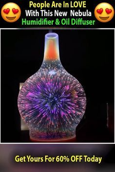 The Nebula Diffuser contains an intricate light pattern that resembles fireworks…