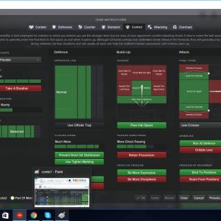 Antonio Conte 3 5 2 Tactics Fm16 Simple Game Antonio Conte Football Manager
