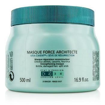 Resistance Force Architecte Reconstructing Masque (For Brittle, Very Damaged Hair, Split Ends) - 500ml-16.9oz