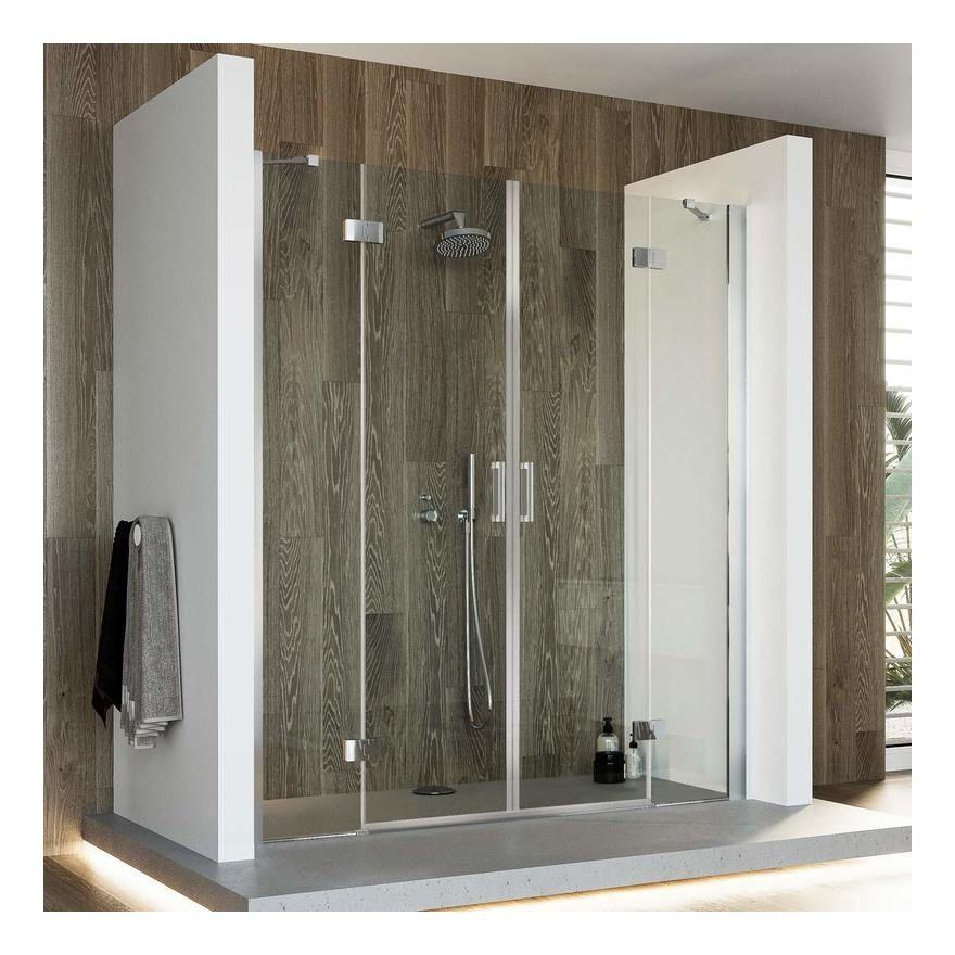 Porte De Douche 165cm H190 Verre Transparent Avec Easy Clean Mod