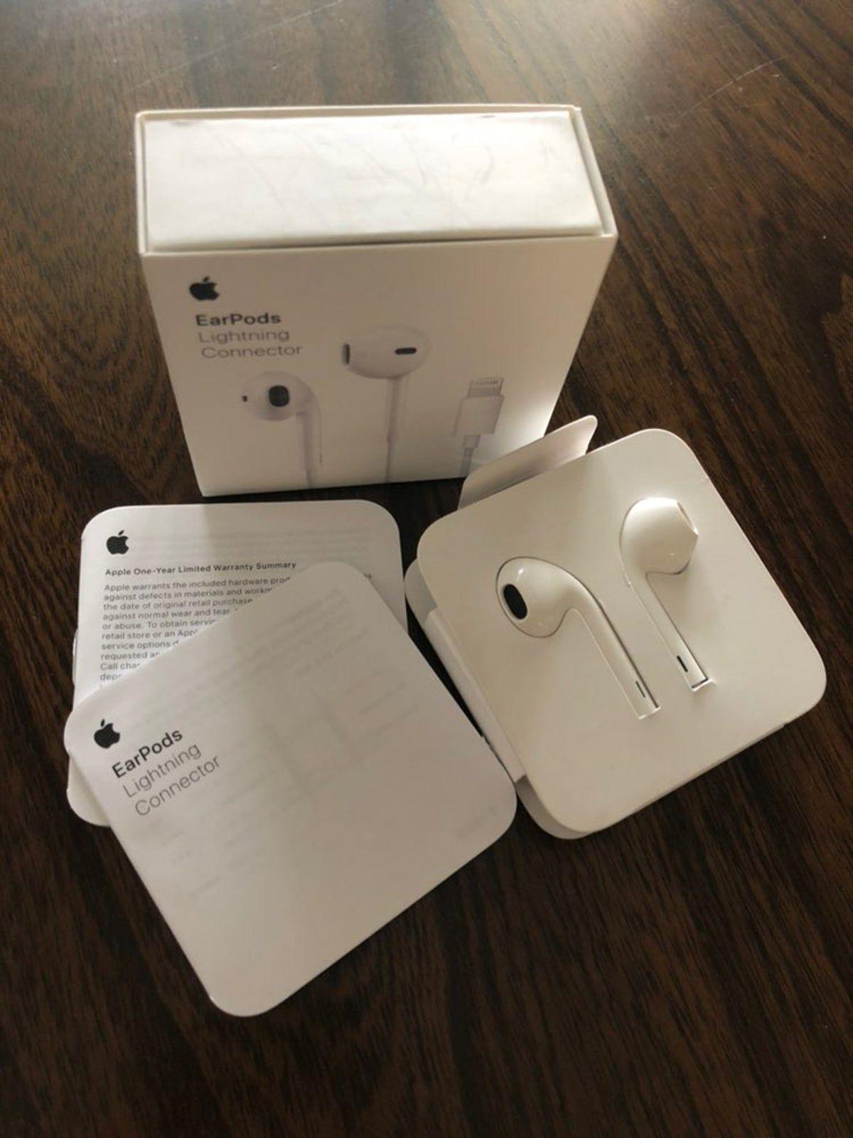 Authentic Apple Earpods Ear Buds Apple Watch Accessories Apple Phone Case Apple Accessories