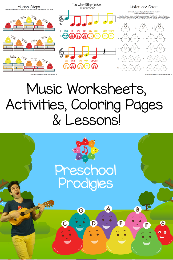 Check out the music worksheets, activities, coloring pages, sheet ...