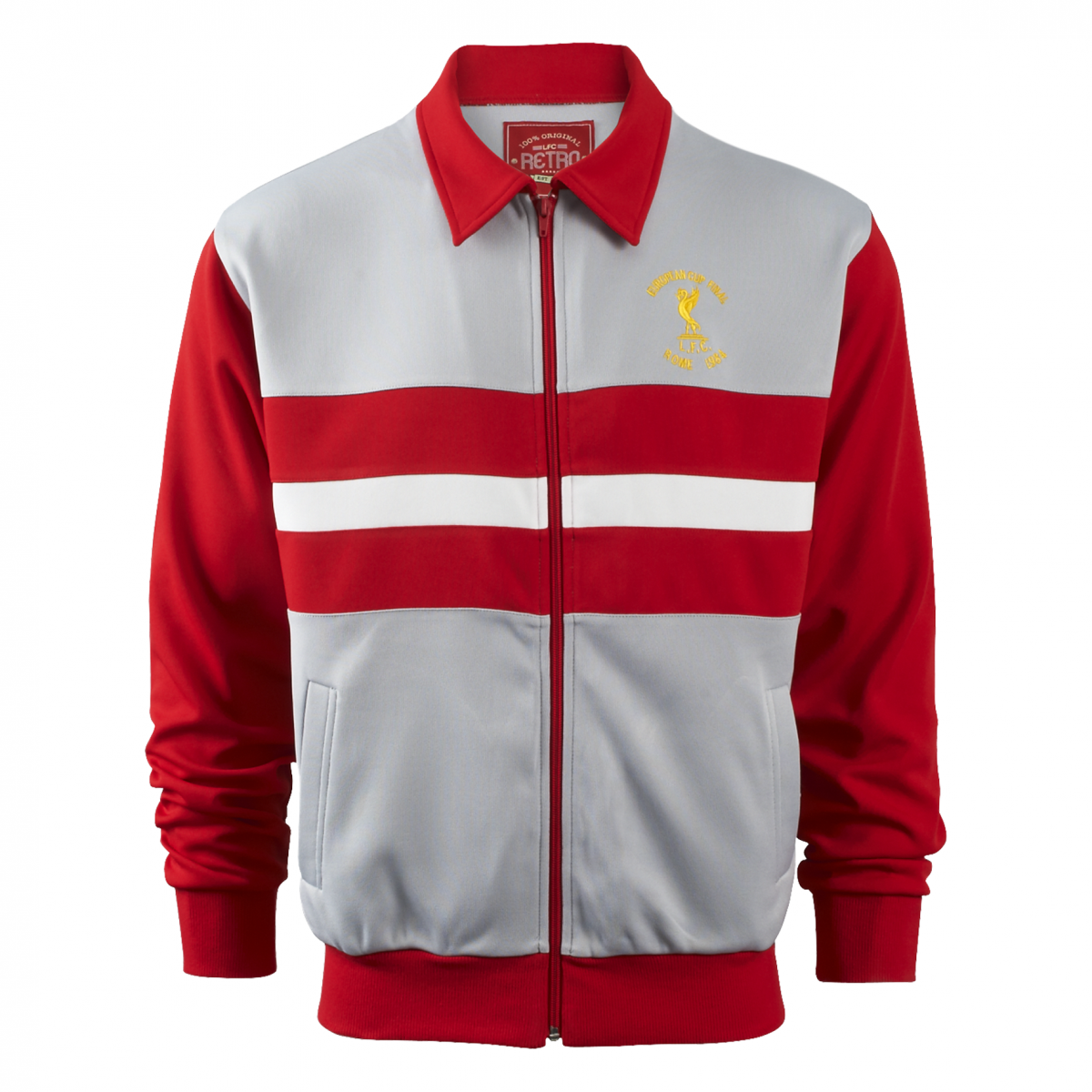 049e48320c1 Liverpool FC Rome 84 Retro Jacket