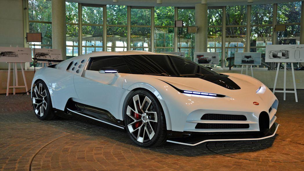 Bugatti Centodieci EB110 Gallery Pictures, Photos