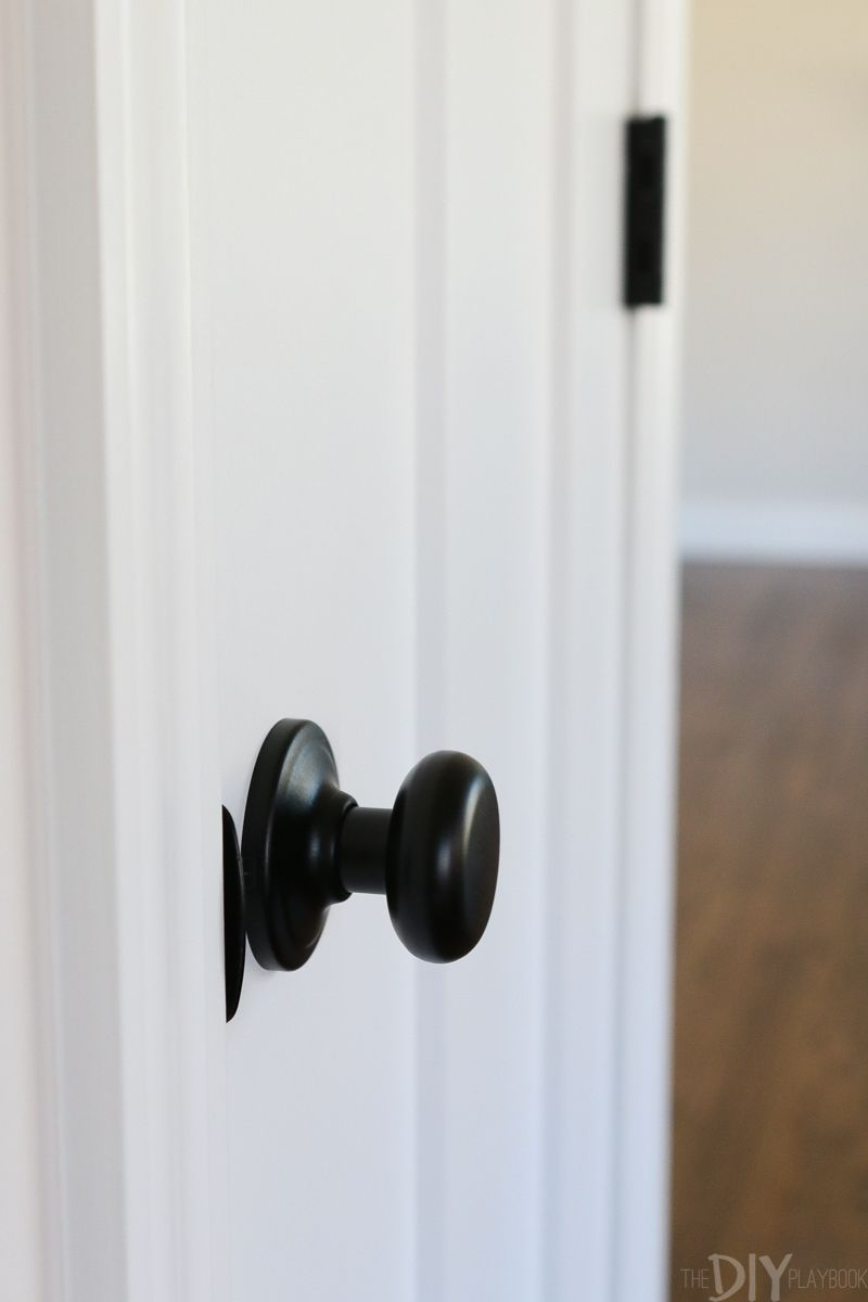 Update Your Doors White Craftsman Style The Diy Playbook White Interior Doors Craftsman Style Doors Craftsman Interior Doors