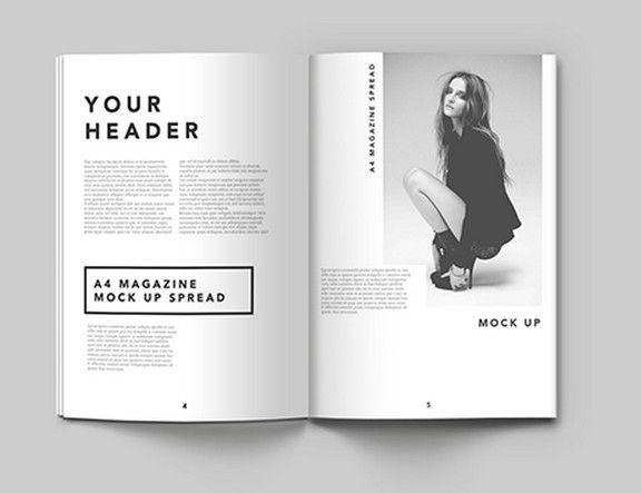 10 Magazine Mockups Templates For Free Download 365 Web Resources Magazine Layout Design Digital Magazine Layout Book Design Layout