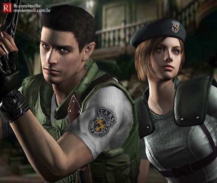 Resident Evil Chris Redfield And Jill Valentine Resident Evil Jill Valentine Resident