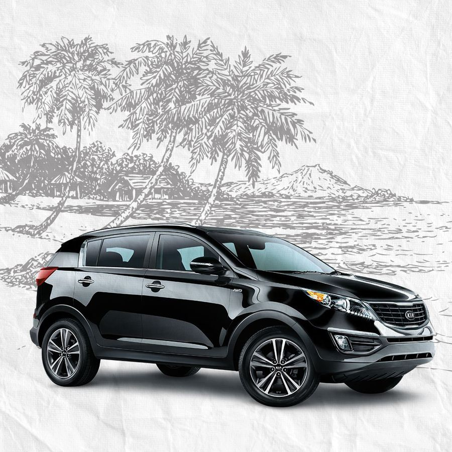 perfect for summer traveling kia sportage small suv sportage pinterest