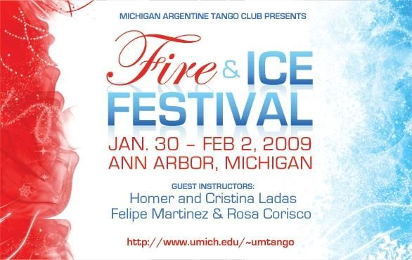 fire and ice invitations Tango Festivals Party Pinterest