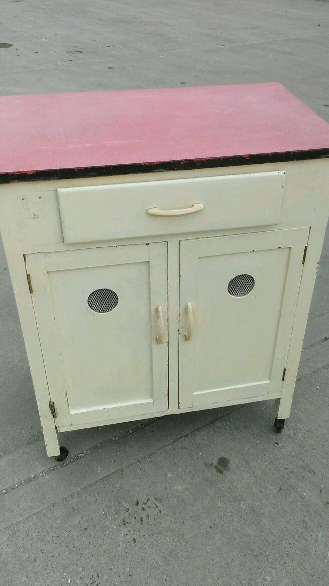 1960s Vintage Formica Top Kitchen Unit Kitchenette Retro
