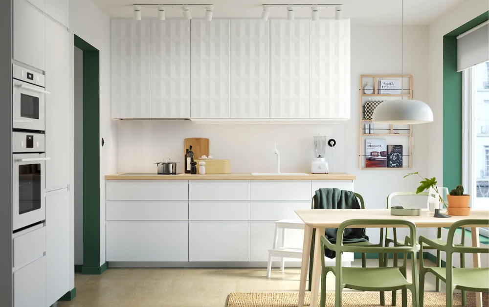 Shake things up, Scandinavian style Ikea small kitchen