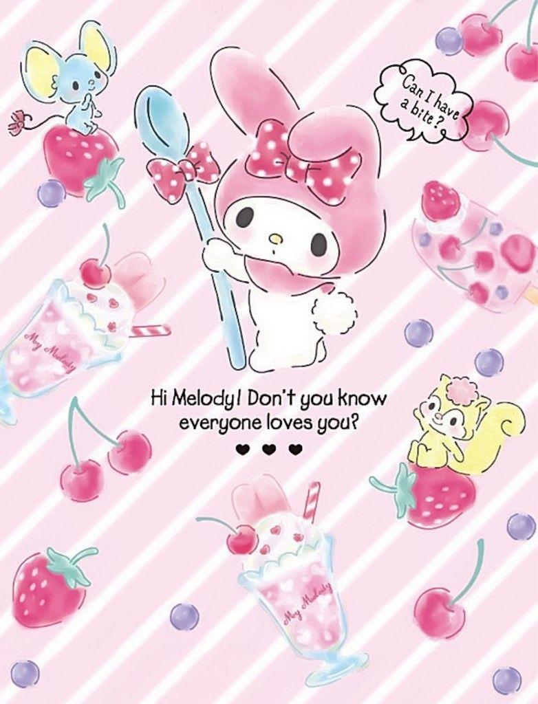 My Melody おしゃれまとめの人気アイデア Pinterest Betsy Kelly マイメロ 壁紙 クロミ 壁紙 キティの 壁紙