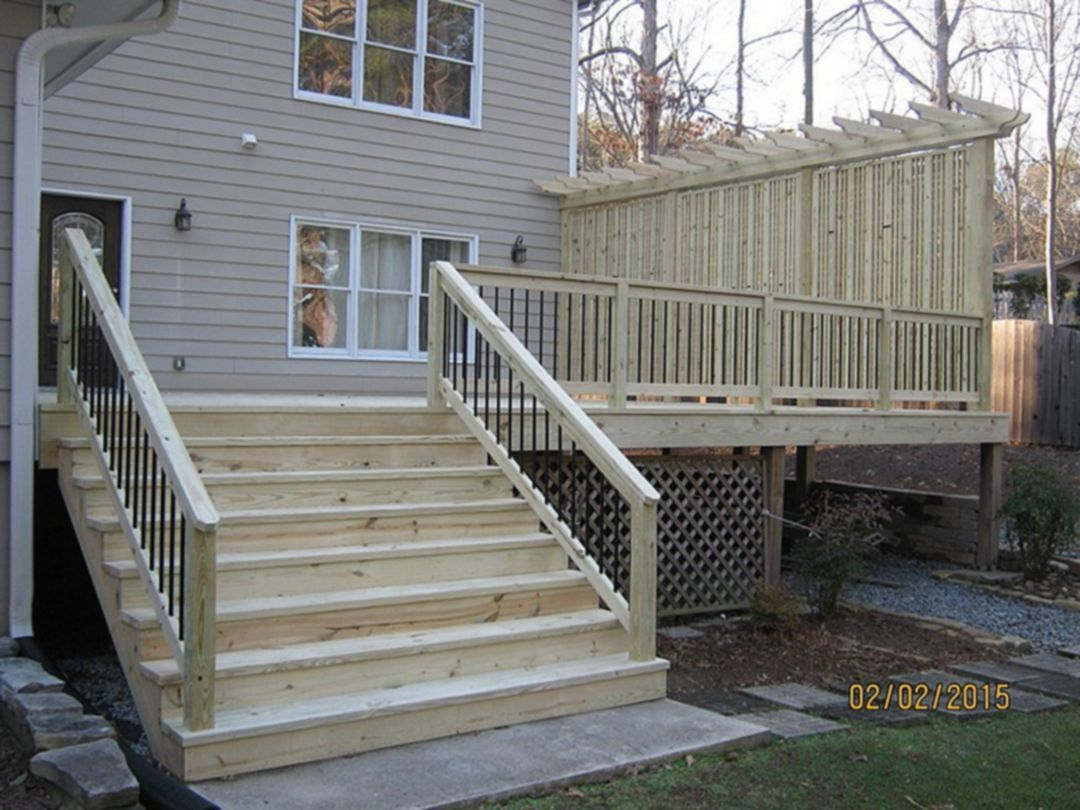 25 Awesome Private Deck Design For Comfortable Yard Ideas