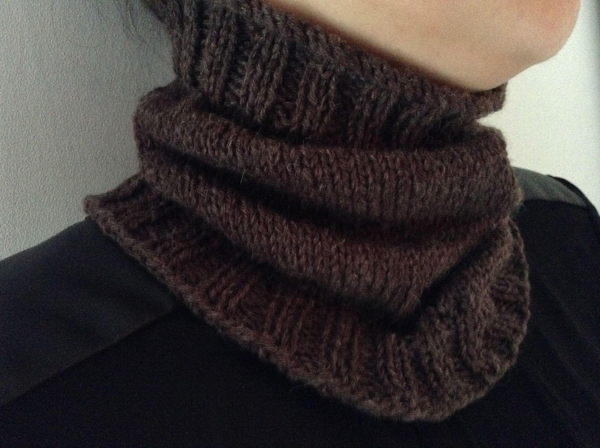Assez Tour de cou pour chien à tricoter soi même | Tour de cou  KQ45