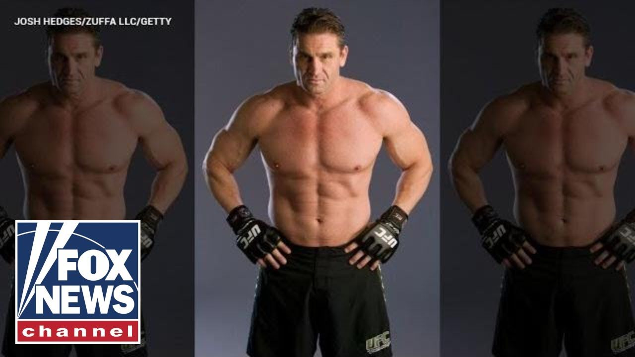 Ken shamrock has dominated in the world of fighting sports