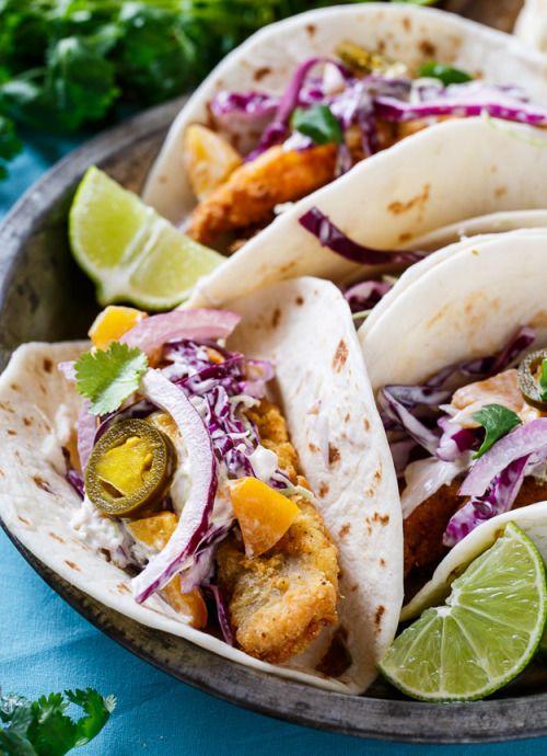 Southern Catfish Tacos