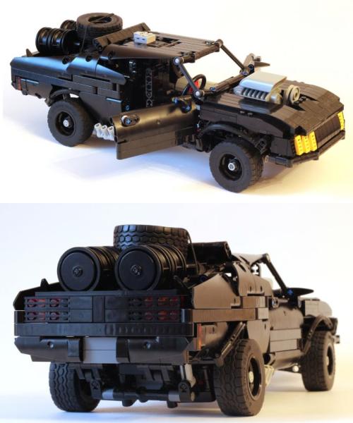 Lego technic Mad Max V8 Interceptor | Lego | Lego universe
