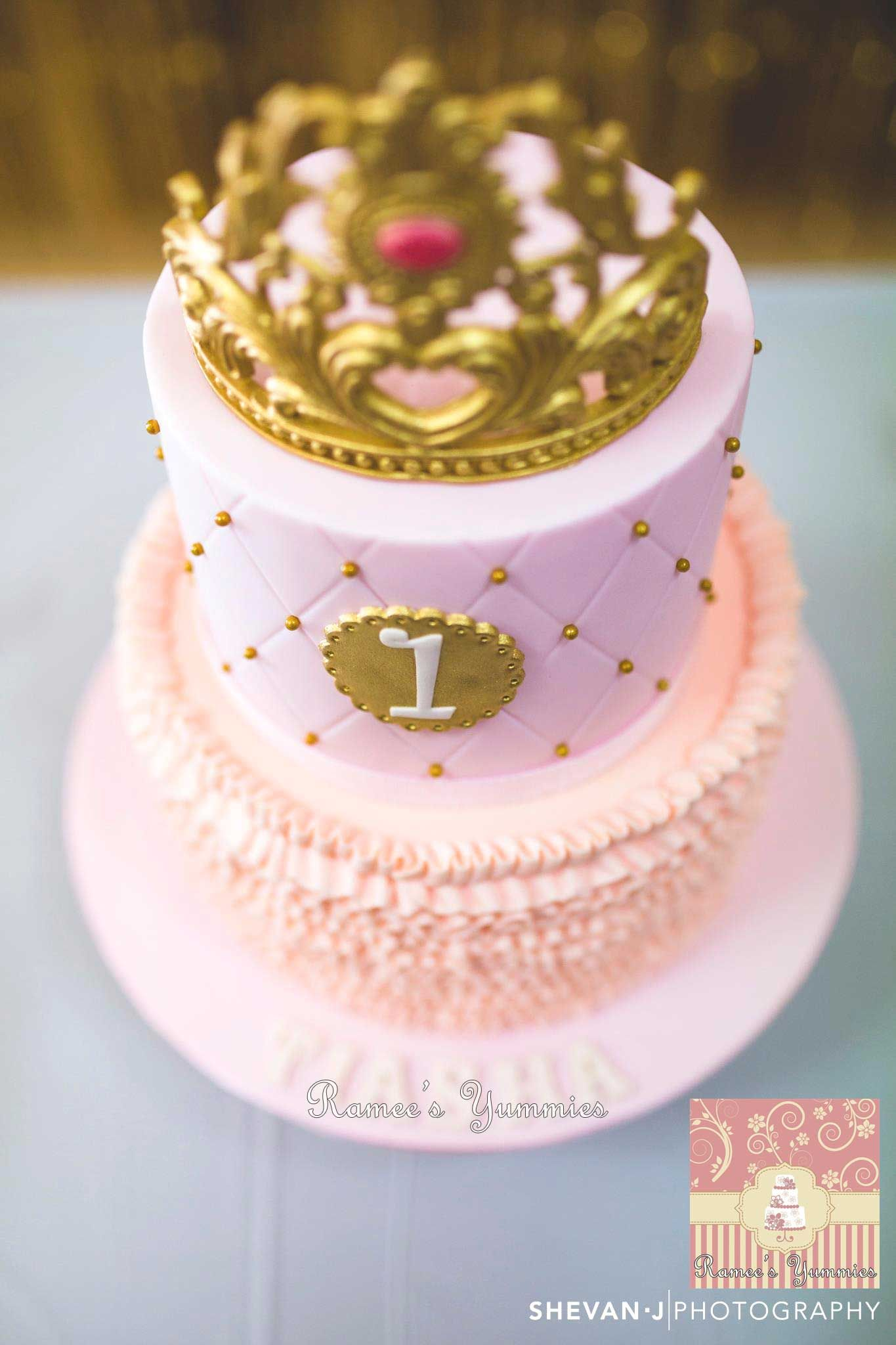 Princess Tiara Birthday Cake Rameesyummies Facebook