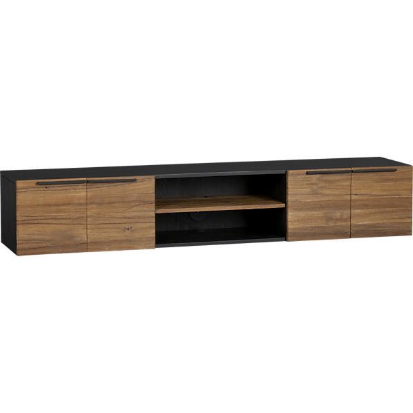 rigby media console crate and barrel