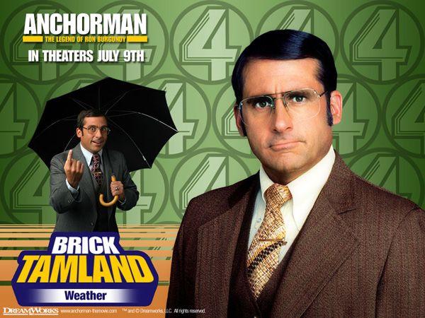 Brick Tamland Anchorman 2 Anchorman Best Movies To See