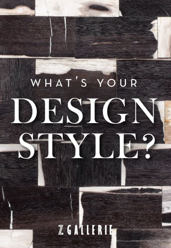 Whatu0027s Your Design Style? Click To Take Our Interactive Quiz.